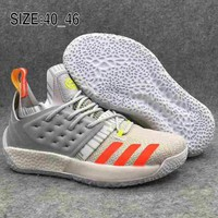 Adidas Harden Vol.2 BOOST Harden 2 combat wearable breathable basketball shoes F-AHXF grey