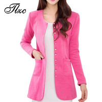Sweet Lady Casual Slim Trench Large Size M-4XL 2016 New Autumn Korean Style Single Breasted Woman Fashion Coat