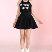 Glitters For Dinner — Made To Order - Internet Queen 2 Piece Set
