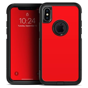 Solid Red - Skin Kit for the iPhone OtterBox Cases