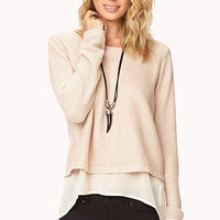 City-Chic Layer Sweater