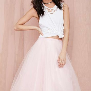 Wheels and Dollbaby Rowen Tulle Skirt