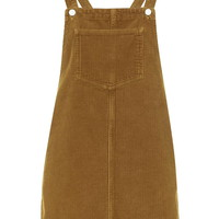 MOTO Cord Pinafore Dress - Clothing