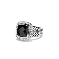 Albion Ring with Black Onyx and Diamonds - David Yurman