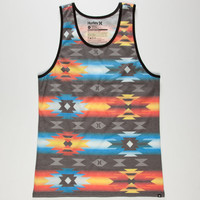 Hurley Tribunal Mens Tank Multi  In Sizes