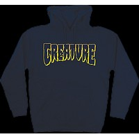 Creature Logo Outline Hoody/Sweater Small Navy