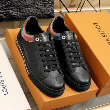 lv louis vuitton womans mens 2020 new fashion casual shoes sneaker sport running shoes 349