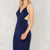 Nasty Gal Tamara Halter Dress
