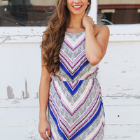 Happy Ever Chevron {Dress}