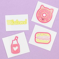 Sugar Milk Sticker Pack 1- Donut, Jug, Macaron, Whatever
