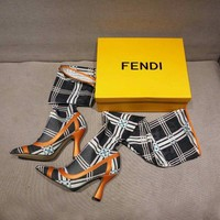 shosouvenir Fendi  Fashion and leisure high hosiery boots