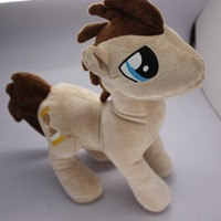 """My little Pony Friendship is Magic Figure Dr Whooves 11"""" Plush Doll Toy"""