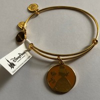 Disney Alex and Ani Parks Belle Find True Beauty Within Bracelet Gold New With Tags