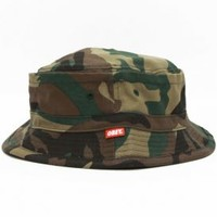 OBEY, Uplands Bucket Hat - Field Camo - Hats - MOOSE Limited