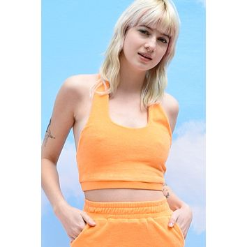 Life Of Leisure Mix N Match Terry Cloth Halter