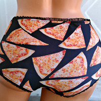 Pizza Panties Lingerie your size Junk food underwear any style