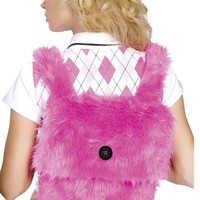 Fur Back Pack