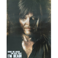 The Walking Dead Daryl Shoot Again Poster