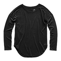 Women's Long Sleeve Workout Top in TNF Black by The North Face