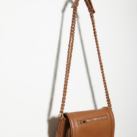 Chain-Braided Strap Crossbody