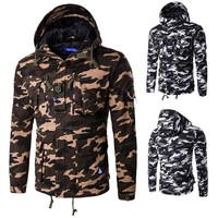 Men Hats Cotton Outdoors Hot Sale Camouflage With Pocket Jacket [10669398915]