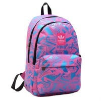 """Adidas"" Tartan Handbag Travel Backpack Laptop Bag Daypack"