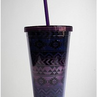 Aztec Purple Carnival Cup - Spencer's