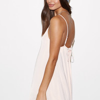 Kendall and Kylie Lace-Up Back Slip Dress at PacSun.com