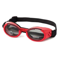Doggles ILS Goggles — Shiny Red