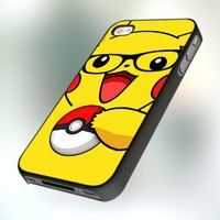 PCFA18 Pokemon Pikachu Cool Design For IPhone 4 or 4S Case / Cover