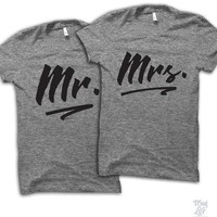 Mr And Mrs Couples Shirt