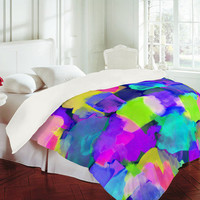 DENY Designs Home Accessories | Amy Sia Brushstroke Blue Duvet Cover