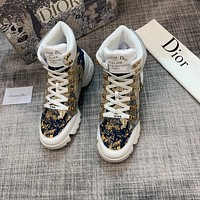 dior fashion men womens casual running sport shoes sneakers slipper sandals high heels shoes 371