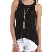 Cinched-Back High-Low Tank Top by Charlotte Russe