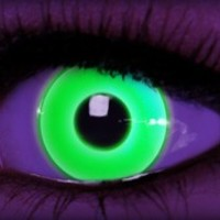 Rave Green Theatrical Contacts by ExtremeSFX