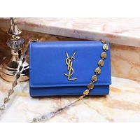 YSL hot seller of fashion casual ladies solid color accessories chain shopping single shoulder bag