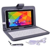 Maxwest Nitro Phablet71 Dual-Core 4GB 7 Unlocked Phone/Tablet w/4G Dual-SIM Android 4.4 Case Keyboard More (Gray)