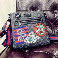 GG new women's retro full D letter Mahjong bag shoulder bag Messenger bag three-piece