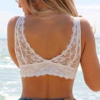 The Bralette Co. Signature Padded Lace Bralette
