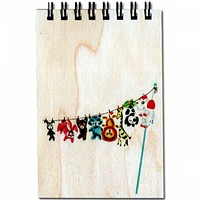 Wood Notepad Whole Gang Small