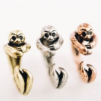 Open Sloth Ring