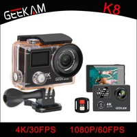 GEEKAM K8 Waterproof Action Camera Ultra HD 4K WIFI