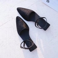 Balenciaga Women Fashion Casual Heels Shoes Slipper Shoes