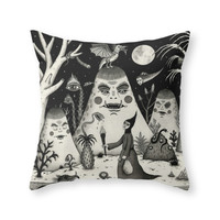 Society6 Outcry Of The Is Throw Pillow