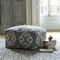 Andalusia Dhurrie Pouf