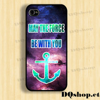 iPhone 5 Case Anchor Star Wars iPhone 4 Case Over Space