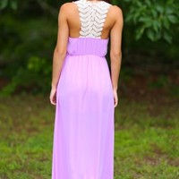 Story Of My Life Maxi Dress-Orchid