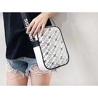 ADIDAS fashion casual lady shopping bag hot seller with printed shoulder bag White