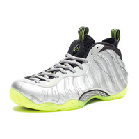 NIKE AIR FOAMPOSITE - SILVER/LIME   Undefeated