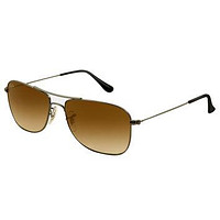 Ray-Ban RB 3477 004-51 59 Men's Gunmetal Frame Brown Gradient Lenses Sunglasses